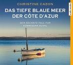 Das tiefe blaue Meer der Côte d'Azur / Kommissar Duval Bd.6 (4 Audio-CDs)
