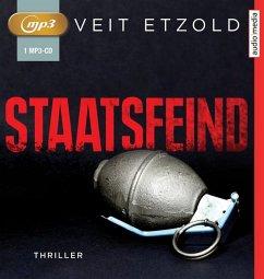 Staatsfeind, 1 MP3-CD - Etzold, Veit