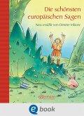 Die schönsten europäischen Sagen (eBook, ePUB)