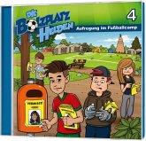 Die Bolzplatzhelden - Aufregung im Fußballcamp, 1 Audio-CD