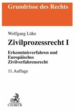 Zivilprozessrecht I - Lüke, Wolfgang