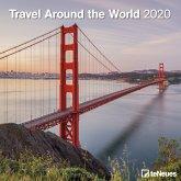 Travel Around the World 2020 Broschürenkalender