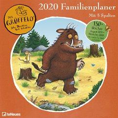 Der Grüffelo Familienplaner 2020 - Donaldson, Julia; Scheffler, Axel