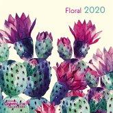 Floral 2020 GreenLine Mini-Broschürenkalender