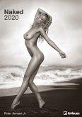 Naked 2020 Wandkalender