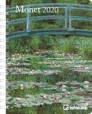 Monet 2020 Buchkalender Deluxe
