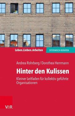 Hinter den Kulissen - kleiner Leitfaden für kollektiv geführte Organisationen - Rohrberg, Andrea; Herrmann, Dorothea