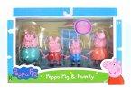 Peppa Pig 4er Spielfiguren Peppas Familie