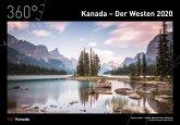 360° Kanada - Der Westen Kalender 2020