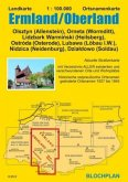 Landkarte Ermland/Oberland 1:100.000
