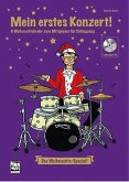 Mein erstes Konzert! 6 Weihnachtslieder zum Mitspielen für Schlagzeug, m. 1 Audio-CD