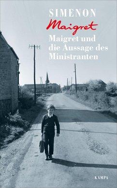 Maigret und die Aussage des Ministranten / Kommissar Maigret Bd.99 - Simenon, Georges