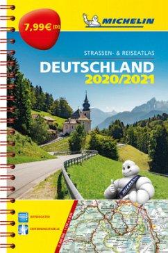 Michelin Kompaktatlas Deutschland 2020/2021