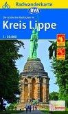 BVA Radwanderkarte Radwandern im Kreis Lippe 1:50.000, reiß- und wetterfest, GPS-Tracks Download