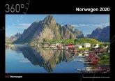 360° Norwegen Kalender 2020