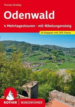 Odenwald 4 Mehrtagestouren - Striebig, Thomas