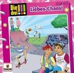 Liebes-Chaos / Die drei Ausrufezeichen Bd.60 (Audio-CD)