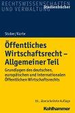 Öffentliches Wirtschaftsrecht - Allgemeiner Teil (eBook, ePUB)