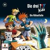 Die drei ??? Kids - Die Rätsel-Falle, 1 Audio-CD