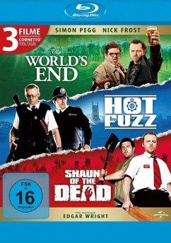 Cornetto Trilogie: The World's End , Hot Fuzz , Shaun of the Dead