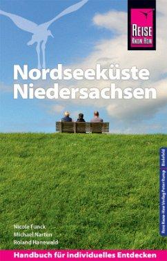Reise Know-How Reiseführer Nordseeküste Niedersachsen - Funck, Nicole; Narten, Michael; Hanewald, Roland