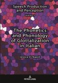 The Phonetics and Phonology of Glottalization in Italian