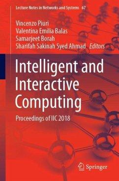 Intelligent and Interactive Computing