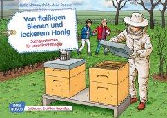 Von fleißigen Bienen und leckerem Honig. Kamishibai Bildkartenset. - Hauenschild, Lydia