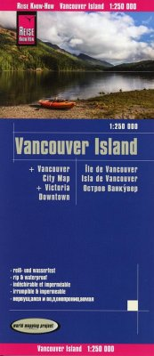 Reise Know-How Landkarte Vancouver Island (1:250.000) - Peter Rump, Reise Know-How Verlag