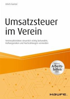 Umsatzsteuer im Verein - inkl. Arbeitshilfen online (eBook, PDF) - Goetze, Ulrich