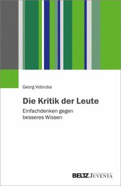 Die Kritik der Leute (eBook, PDF) - Vobruba, Georg