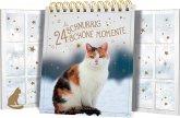 Tischkalender mit Flügeltüren - 24 schnurrig schöne Momente