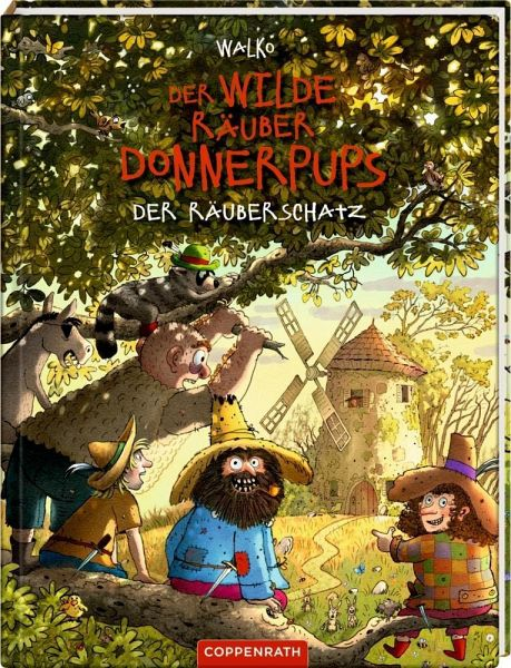 Buch-Reihe Der wilde Räuber Donnerpups
