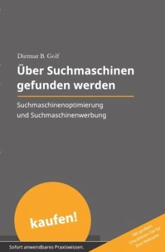 Über Suchmaschinen gefunden werden - Golf, Dietmar B.