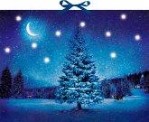 Wand-Adventskalender mit Licht - Winterzauber