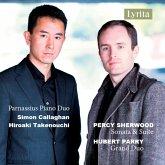 Percy Sherwood & Hubert Parry Piano Duos