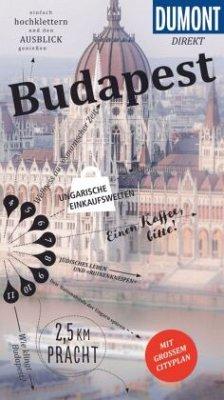 DuMont direkt Reiseführer Budapest - Eickhoff, Matthias