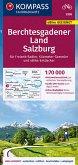 KOMPASS Fahrradkarte Berchtesgadener Land, Salzburg 1:70.000