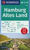 KOMPASS Wanderkarte Hamburg, Altes Land