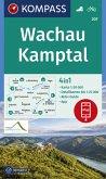 KOMPASS Wanderkarte Wachau, Kamptal