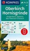 KOMPASS Wanderkarte Oberkirch, Hornisgrinde, Gengenbach, Oppenau, Bad Peterstal-Griesbach
