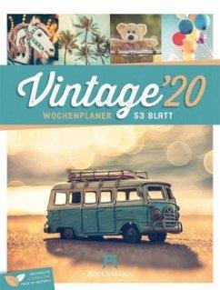 Vintage 2020 - Wochenplaner