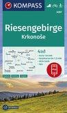 Kompass Karte Riesengebirge, Krkonose