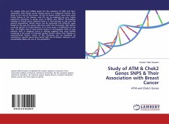 Study of ATM & Chek2 Genes SNPS & Their Association with Breast Cancer