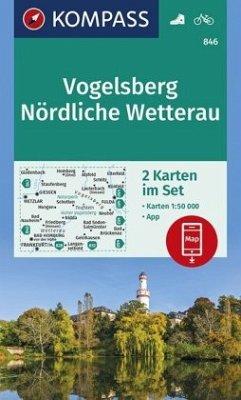 Kompass Karte Vogelsberg, Nördliche Wetterau, 2 Bl.