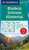 KOMPASS Wanderkarte Bludenz, Schruns, Klostertal