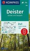 KOMPASS Wanderkarte Deister, Süntel und Saupark