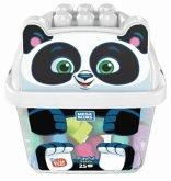 Mega Bloks Panda Bausteinbox