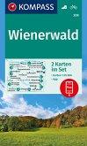 KOMPASS Wanderkarte Wienerwald