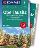 KOMPASS Wanderführer Oberlausitz, Lausitzer Heide-, Teich- und Bergland, mit Zittauer Gebirge